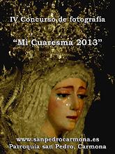"""Convocado el IV Concurso de Fotografia """"Mi Cuaresma"""""""