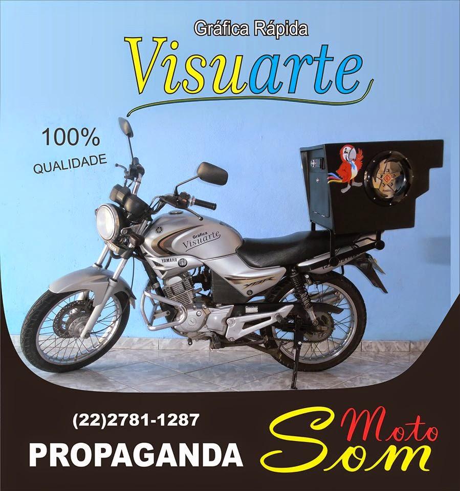 Serviço móvel de propaganda em Santo Eduardo.