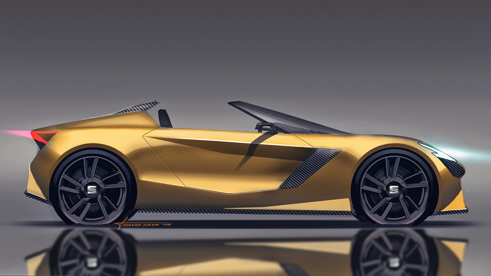 Seat Roadster Design Study for a Spanish Mazda MX-5