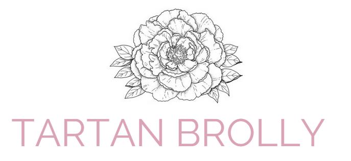 TARTAN BROLLY // UK Fashion + Lifestyle Blog