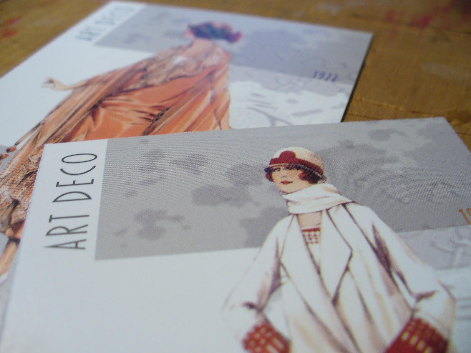 Calendarios de Bolsillo 2013/ Moda femenina Art Deco