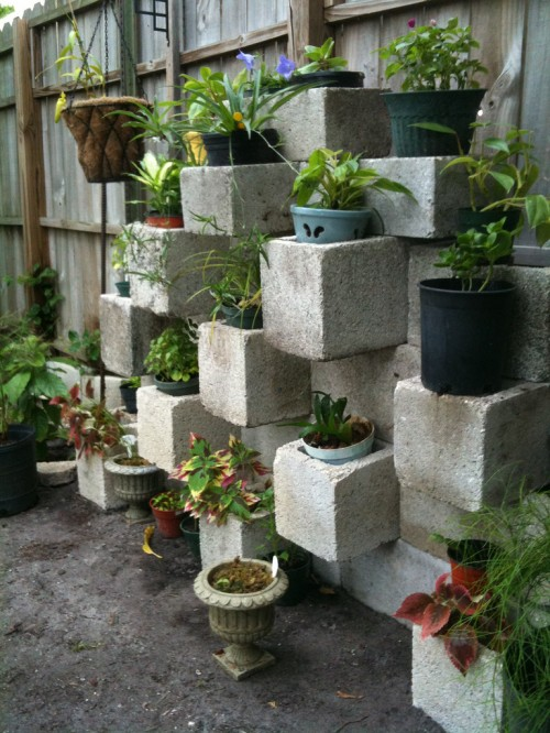 Centerpointe Communicator: Cinder block garden: design, build, and ...