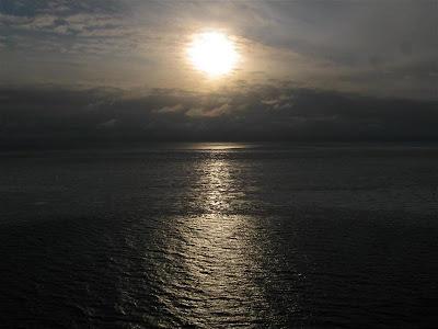 Puesta de sol en el Mar Báltico