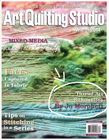Read Jo's Interview in the Winter 2014 issue of Art Quilting Studio magazine