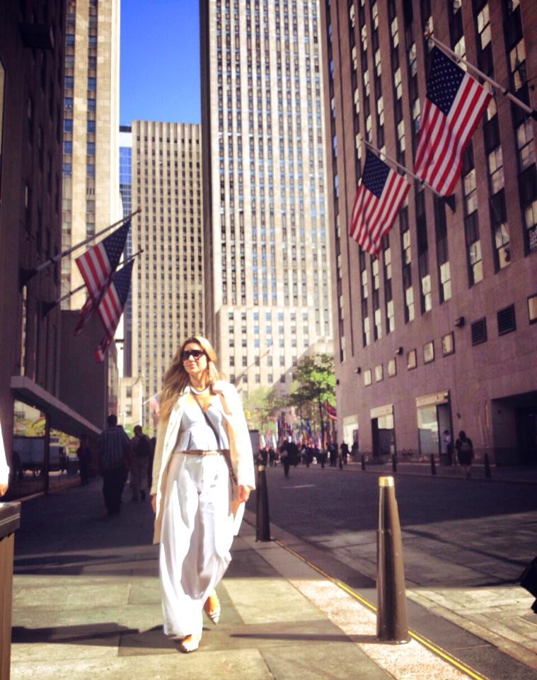 Cintia Liana em NY
