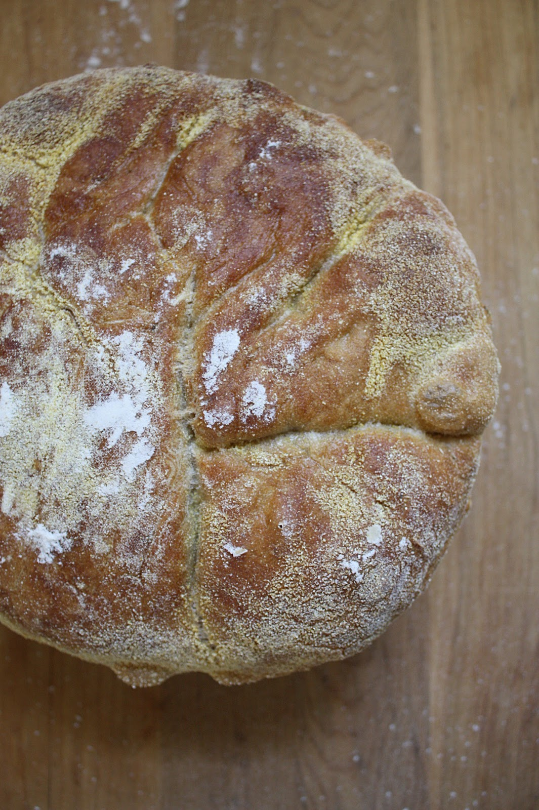 Everyday Art: Rosemary-Lemon No-Knead Bread