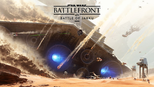 Star Wars: Battlefront Battle of Jakku Art