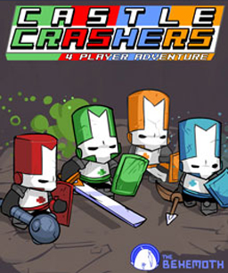 Castle Crashers Title Screen Cover
