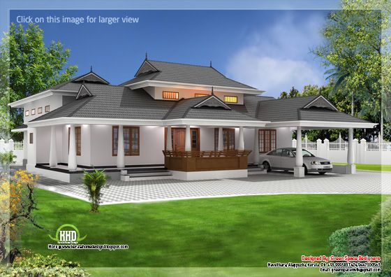 March 2013 - Kerala home design - Architecture house plans