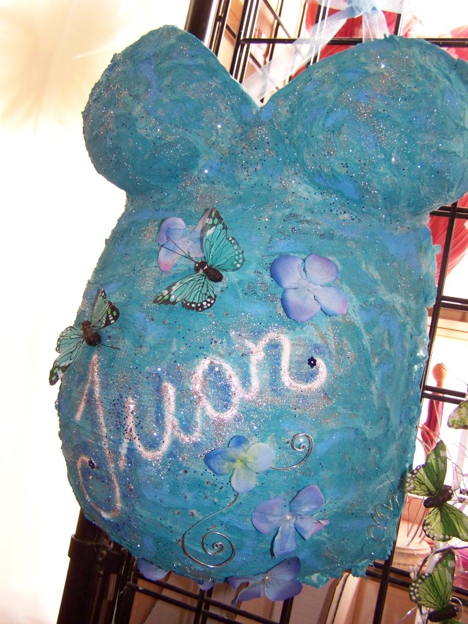 Oh la la bebe decoramos el molde de nuestra for Cuarto embarazo