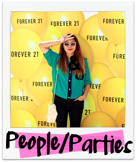 PEOPLE & PARTIES