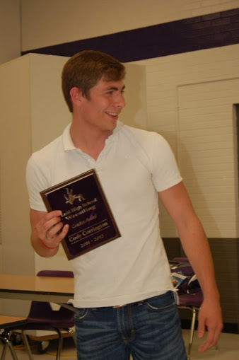 2011-12 Pioneer Award Winner Cody Corrington