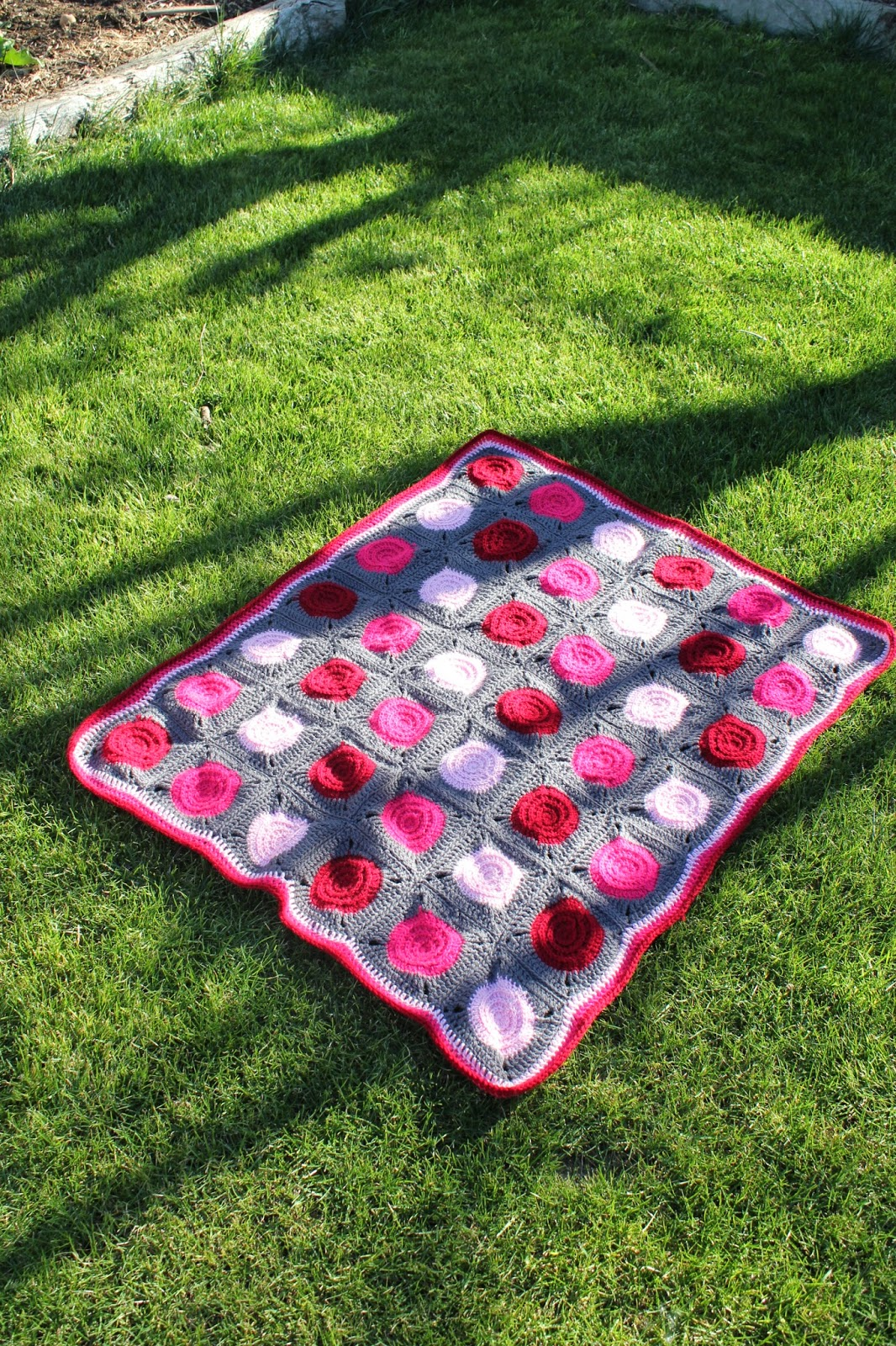 Perfect Crochet Circle Blanket Pattern Gallery - Sewing Pattern for ...