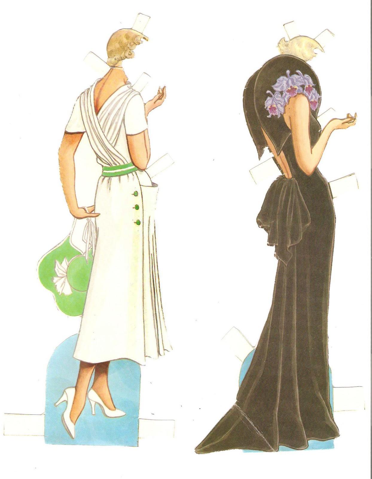 fashion paper dolls