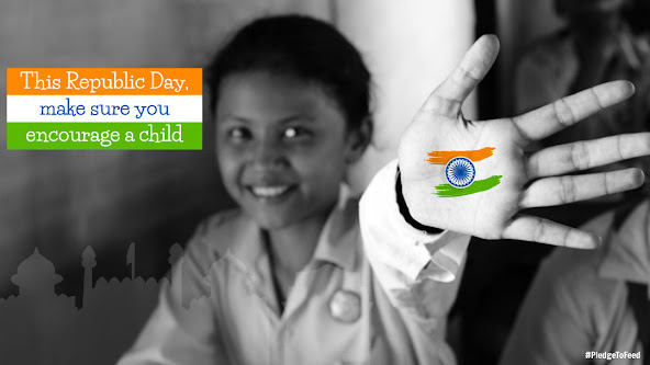 Pledge to Feed - 69th Republic Day of India