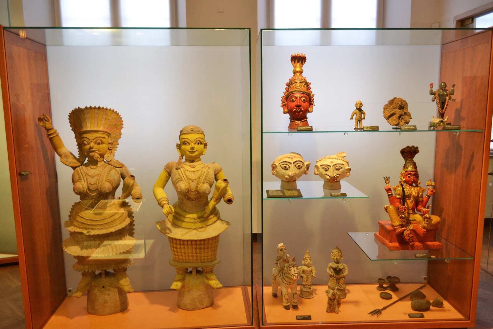 Indian section at  The National Museum of Denmark