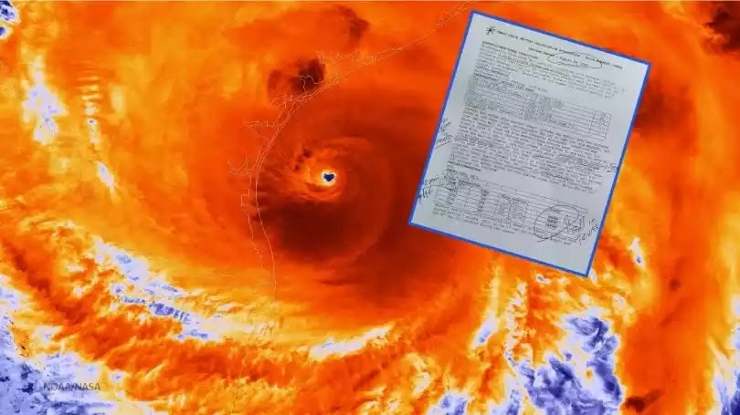 Έγγραφο αποκαλύπτει ότι έγινε «σπορά νεφών» στο Τέξας πριν τον Χάρβεϊ!