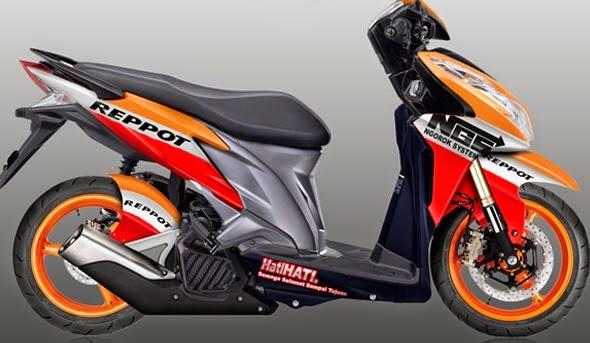 Modifikasi Honda Vario Balap