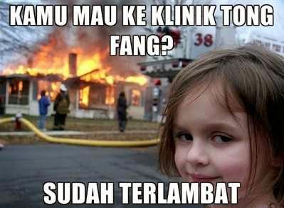 Gambar Lucu Meme Komik Klinik Tong Fang