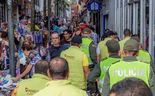 OPERATIVOS EN EL CENTRO DE PEREIRA