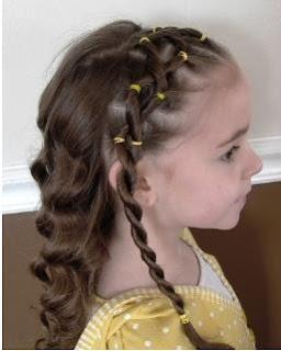 peinados para niñas, peinados de niñas para la escuela casuales bonitos peinados faciles, peinados
