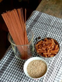 Arroz y pasta integral