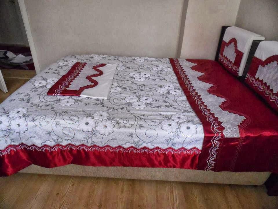 güzel yatak dantelleri