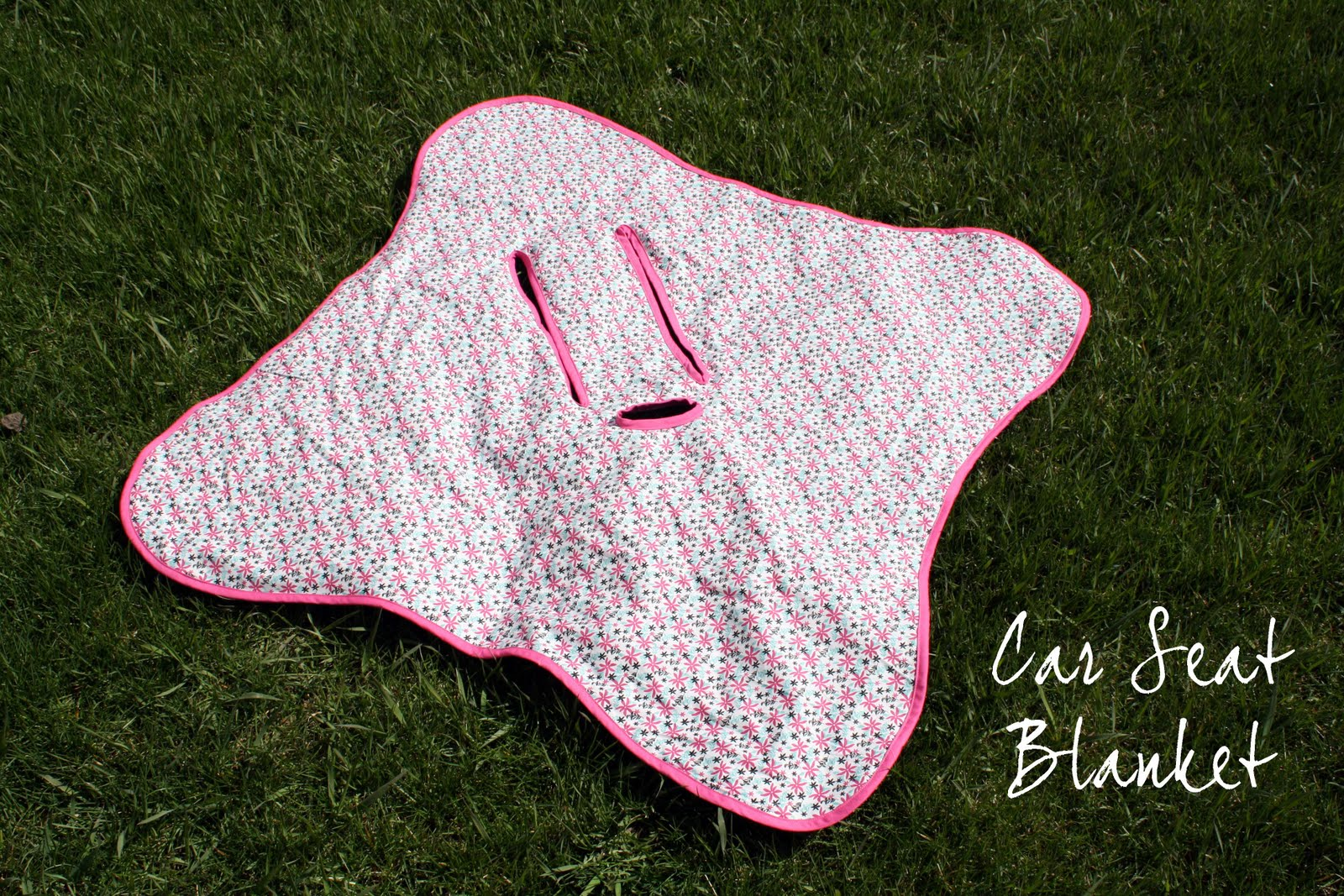 Running With Scissors Car Seat Blanket Gift
