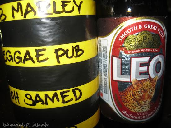 Koh Samet Island - Leo Beer from Reggae Pub