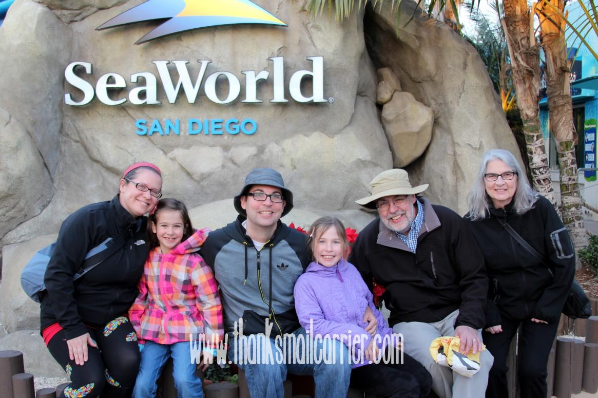 SeaWorld San Diego vacation