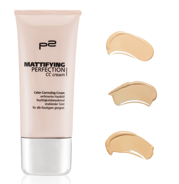 p2 mattifying perfection CC cream