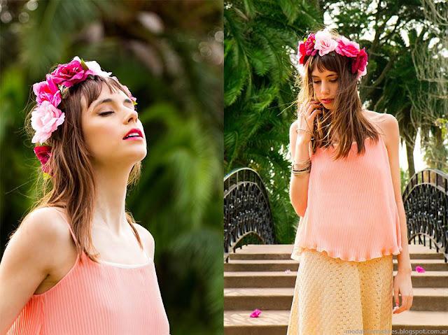 Moda primavera verano 2016. Blusas, faldas, vestidos verano 2016 Santa Osadia ropa de mujer.