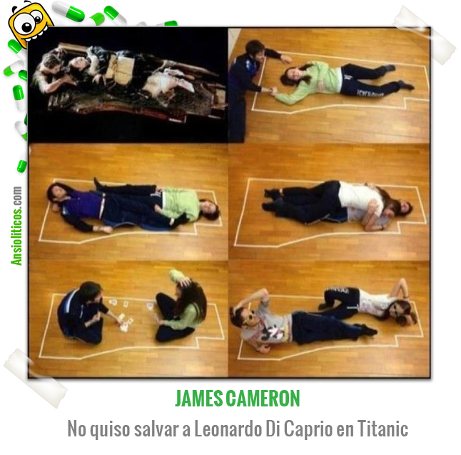 Chiste de Pelicula Titanic: Salvar a Jack