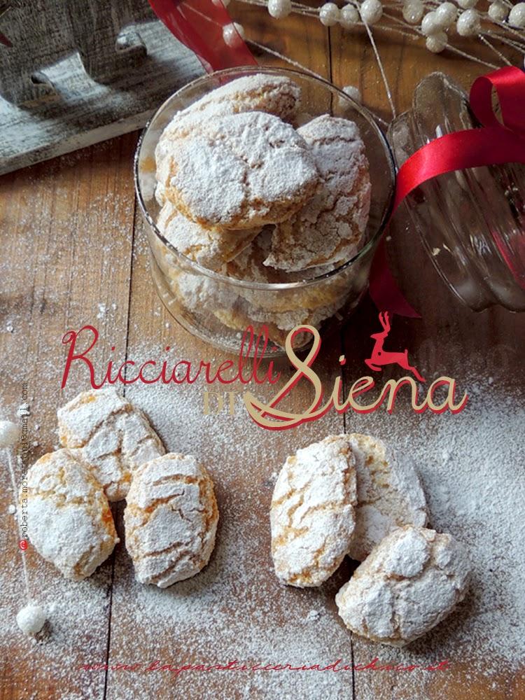 Ricciarelli di Siena - www.lapasticceriadichico.it