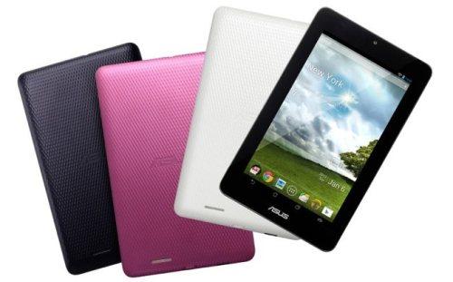Asus sta per lanciare ad aprile 2013 i nuovi tablet a basso costo con display da 7 pollici e sistema operativo Android Jelly bean