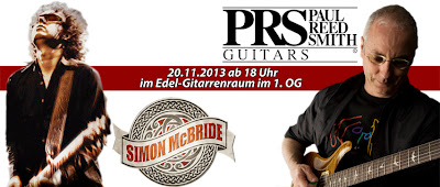 Paul Reed Smith, Simon McBridge, Rock Shop Karlsruhe, Edel-Gitarrenraum