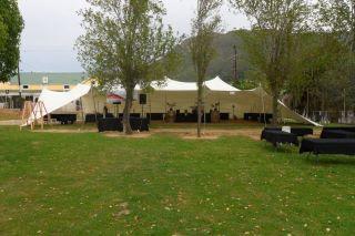 20m x 15m Shiraz festival setup