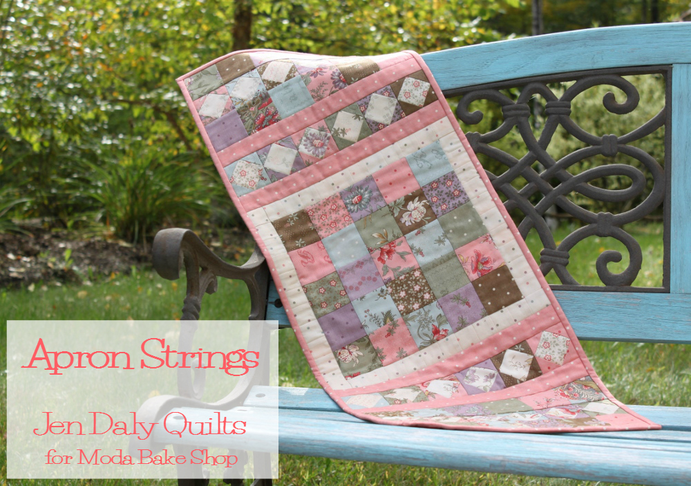 Jen Daly Quilts Apron Strings Free Charm Pack Pattern