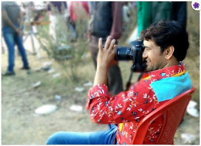Prem Ray Signed of Dinesh Lal Yadav 'Nirahua' for 'Deewar' Film