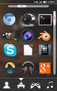 Интерфейс Ubuntu Для Android