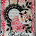 Pretty in Pink Birthday Card with Corina Finley