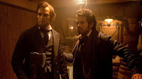 Photo of Abraham Lincoln: Vampire Hunter movie, with Dominic Cooper and Benjamin Walker