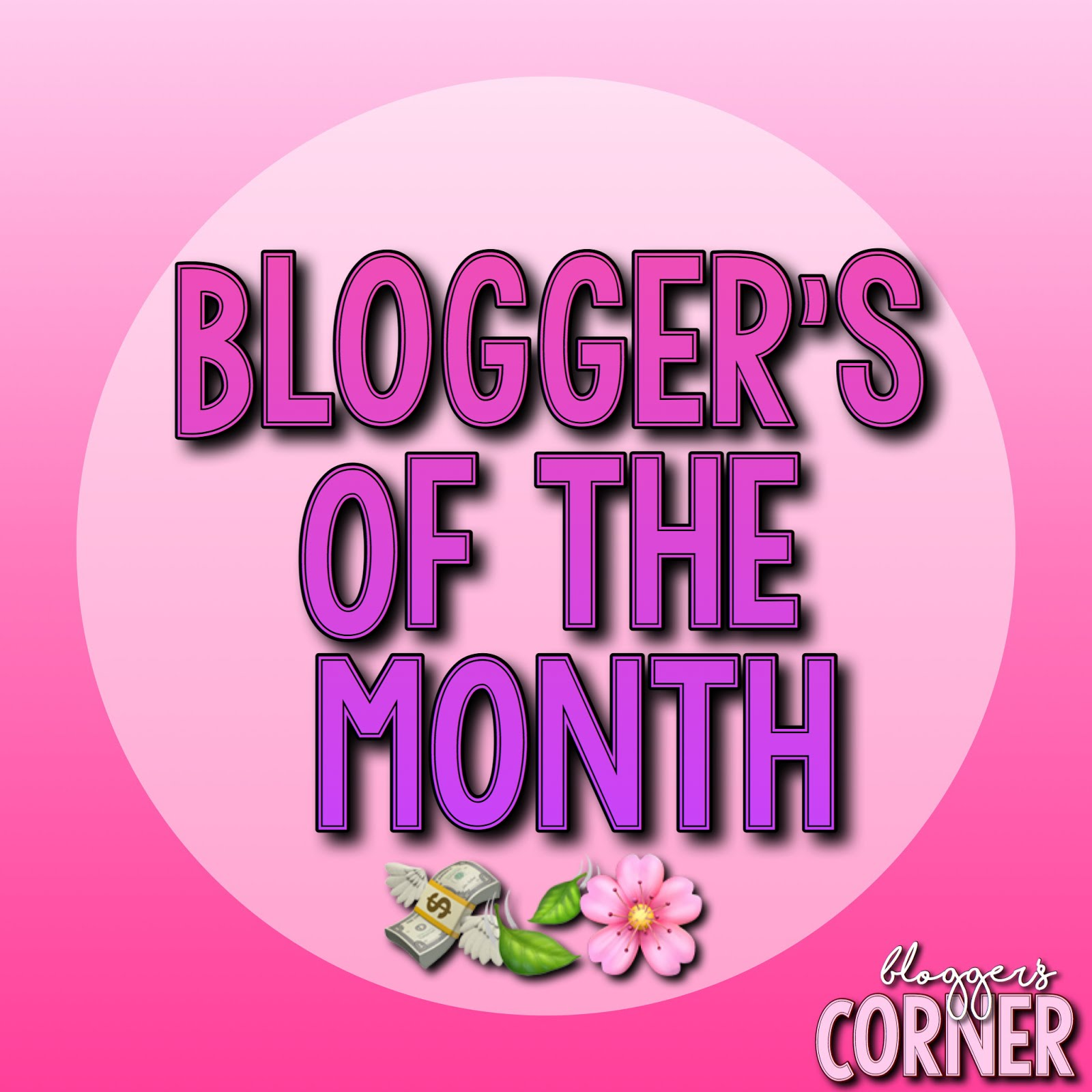 May Blogger of the Month