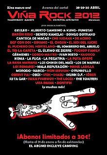 Barón Rojo, Sober y SFDK al festival Viña Rock 2012