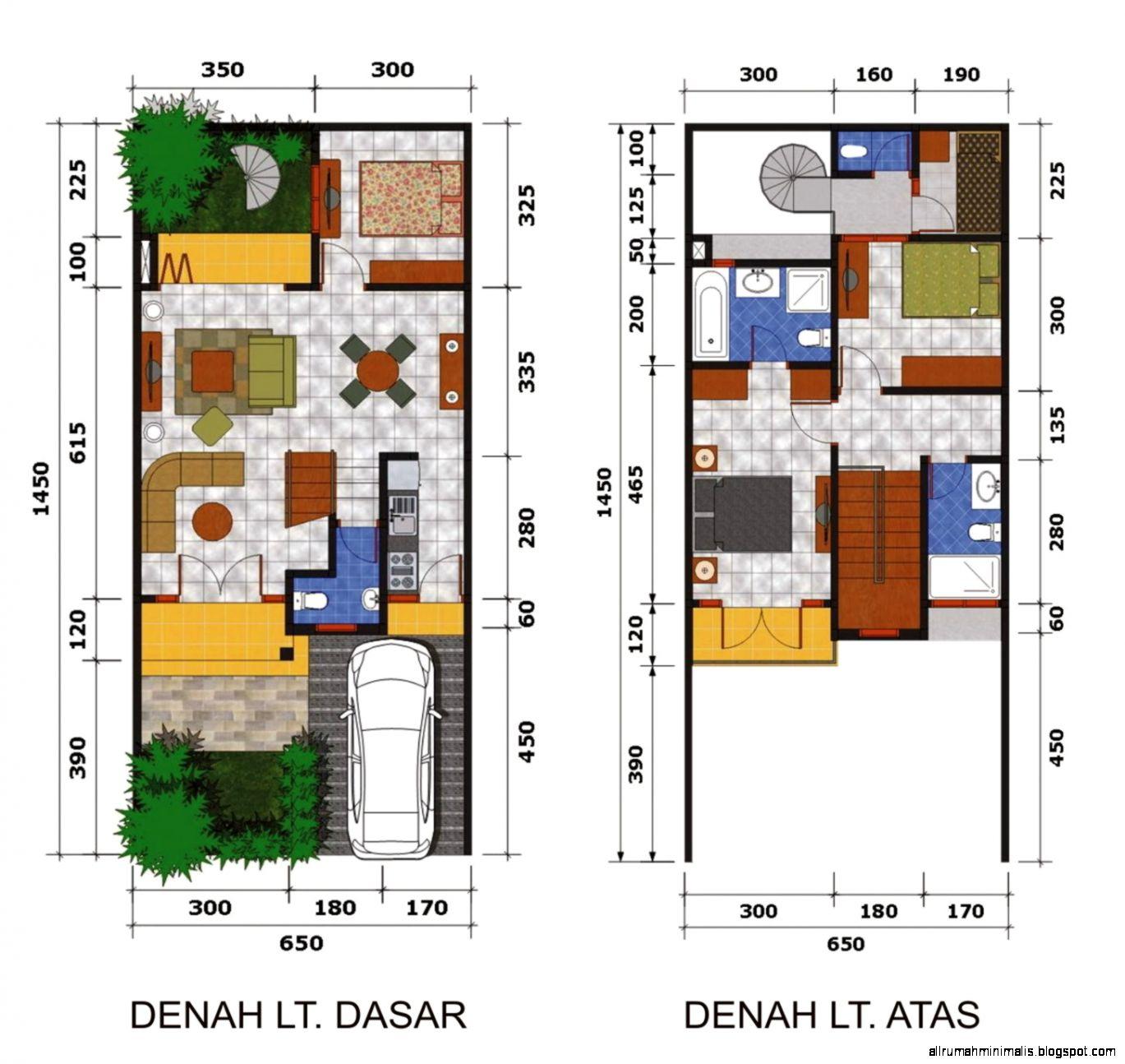 Sketsa Rumah Minimalis Sederhana  Cara Mendesain Rumah