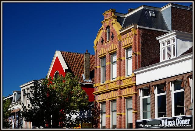 Friesland, Fryzja, Holandia, kamienice