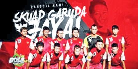 Jadwal pertandingan laga uji coba timnas U-19 di tour Nusantara 2014