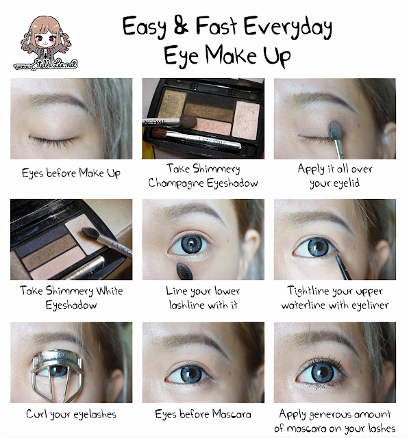 Easy Fast Everyday Eye Make Up Tutorial