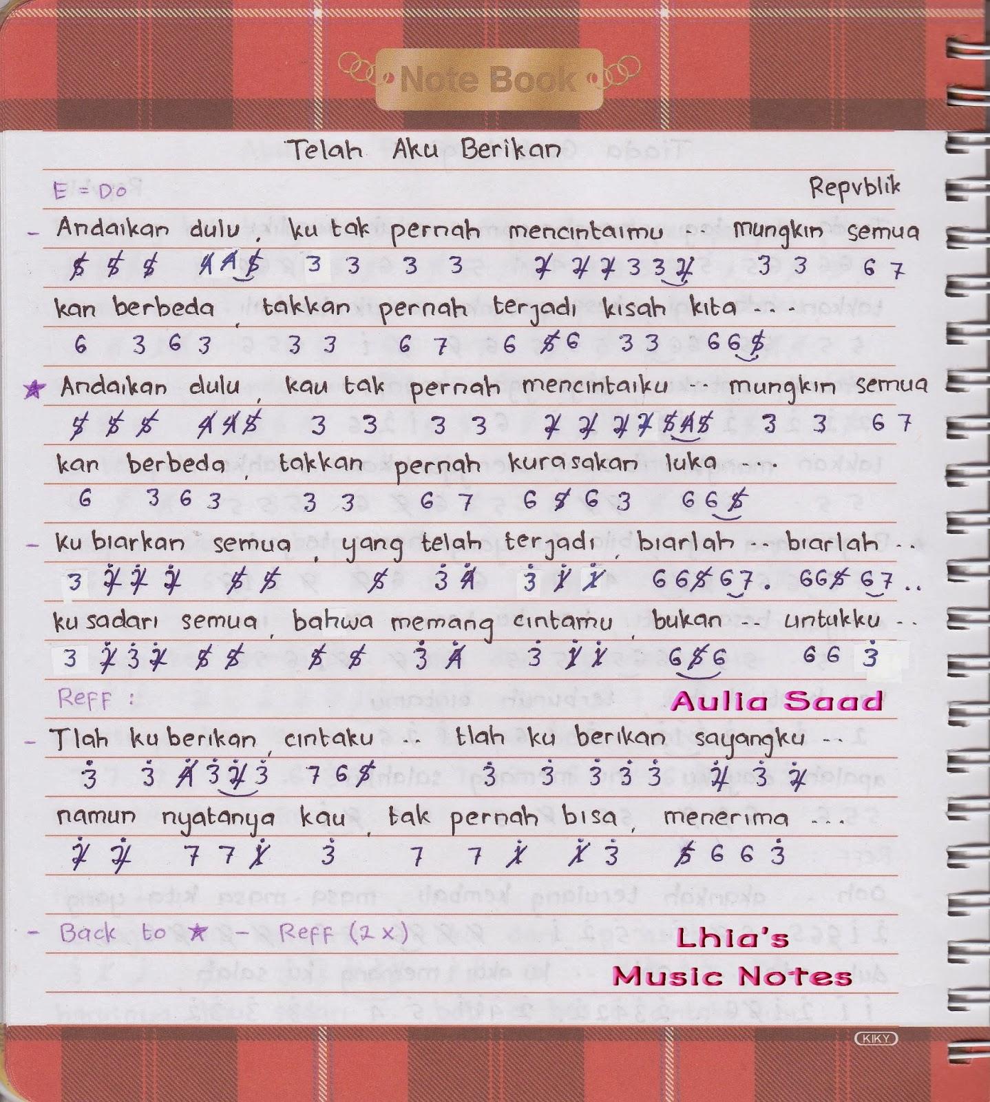 Chord Gitar Repvblik Aku Takut Lirik: Selimut Tetangga