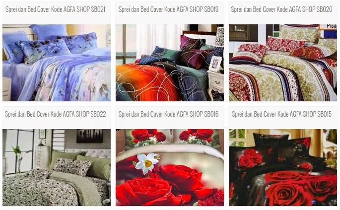Sprei dan Bed Cover Home Made, Banyak pilihan Motif